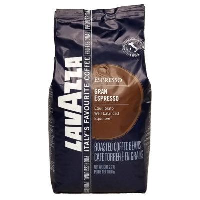 Кофе Lavazza Gran Espresso в зернах 1 кг