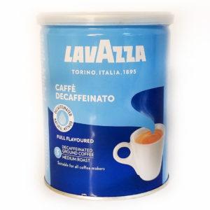 Кофе без кофеина Lavazza Dek молотый ЖБ 250 г