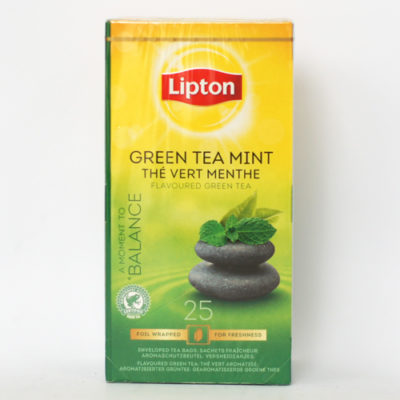Чай Lipton Green Tea with Mint в пакетиках