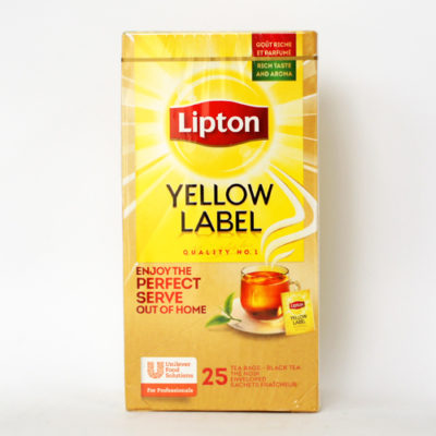 Чай Lipton Yellow Label в пакетиках