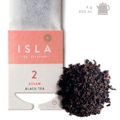 Чай Isla чёрный Ассам, 10 пакетиков