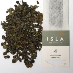 Чай Isla зелёный Gunpowder, 10 пакетиков