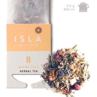 Чай Isla травяной «Альпийский луг», 10 пакетиков