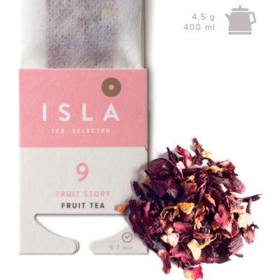 Чай Isla фруктовый FRUIT STORY, 10 пакетиков