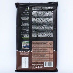 Шоколад черный 54% какао CACHET DARK CHOCOLATE 54% COCOA 300 г