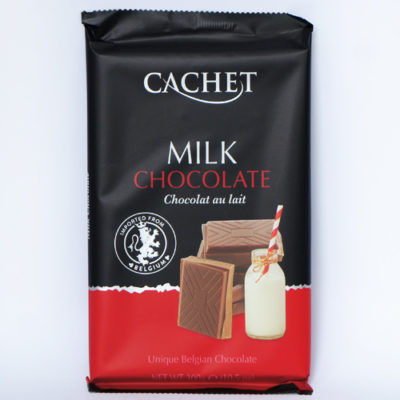 Шоколад молочный CACHET MILK CHOCOLATE 300 г