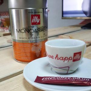 Кофе Illy Monoarabica Эфиопия в зернах 250 г