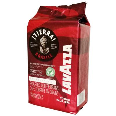 Кофе Lavazza TIERRA BRASILE EXTRA INTENSE в зернах 1 кг