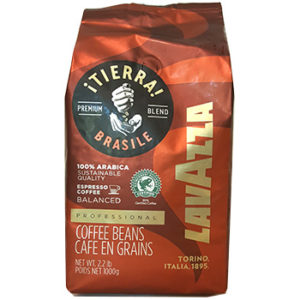 Кофе Lavazza TIERRA BRAZILE BALANCED в зернах 1 кг