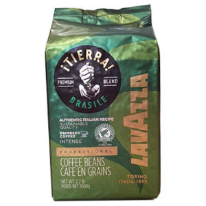 Кофе Lavazza TIERRA BRAZILE INTENSE в зернах 1 кг