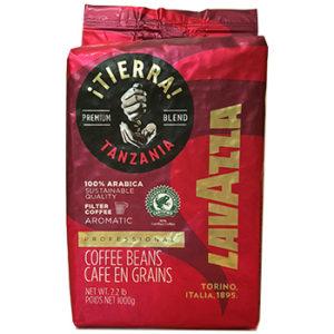 Кофе Lavazza TIERRA TANZANIA в зернах 1 кг