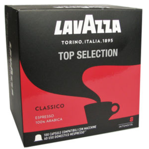 Кофе Lavazza Top Selection в капсулах «Nespresso» 100 шт