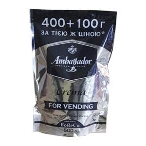 Кофе Ambassador Crema растворимый 500 г