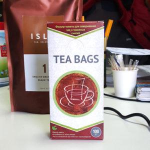Фильтр-пакеты для чая TEA BAGS