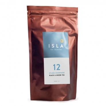 Чай Isla черный зелёный SPLASH CHAMPAGNE, 100 грамм