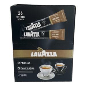 Кофе Lavazza Crema e Aroma espresso растворимый в стиках 26х2 г