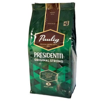 Кофе Paulig Presidentti Original Strong в зернах 1 кг