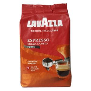 Кофе Lavazza Espresso Crema e Gusto Forte в зернах