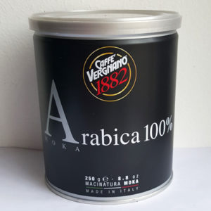 Кофе Vergnano Arabica 100% Moka 250 г
