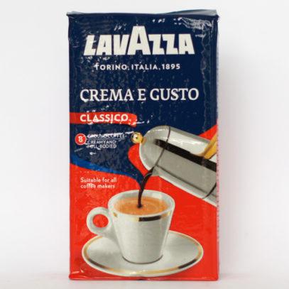 Кофе Lavazza CREMA e GUSTO молотый