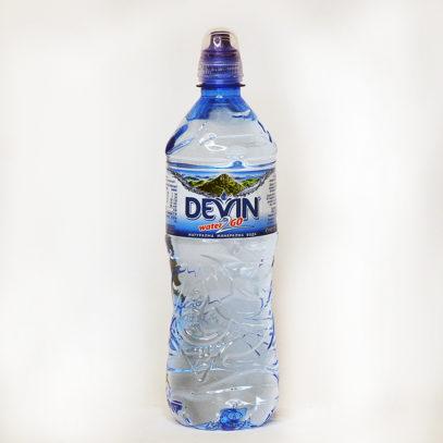 Вода DEVIN water 2 GO минеральная негазированная 750 мл