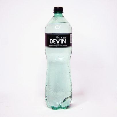 Вода DEVIN минеральная газированная 1500 мл