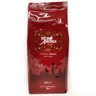 Кофе Nero Aroma Classic в зернах 1 кг