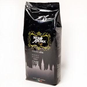 Кофе Nero Aroma Elite в зернах 1 кг — АКЦИЯ — 3 кг со скидкой 32%