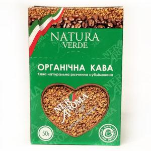 Кофе Nero Aroma Natura Verde растворимый 2 г x 25 стиков