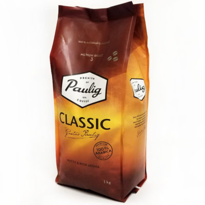 Кофе Paulig Classic 100% Арабикa в зернах 1 кг