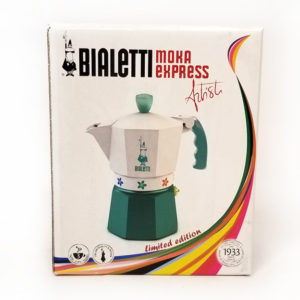 Мокаварка Bialetti Moka Express Artisti с цветами на 3 чашки