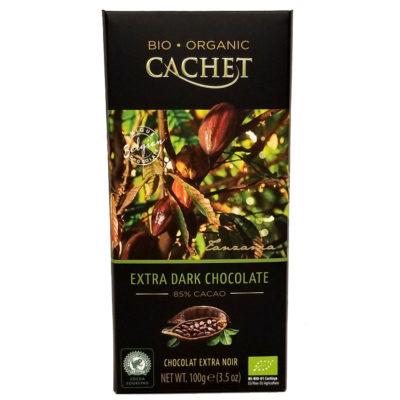 Шоколад CACHET Tanzania экстра черный 85% какао 100 г