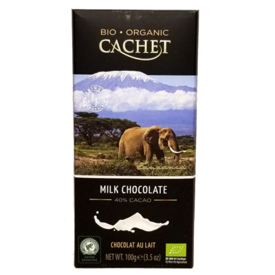 Шоколад CACHET Tanzania молочный 40% какао 100 г