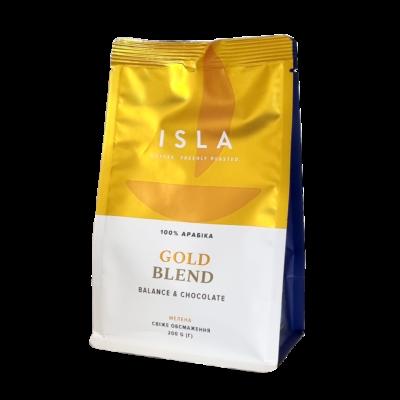 Кофе ISLA GOLD BLEND молотый 200 г