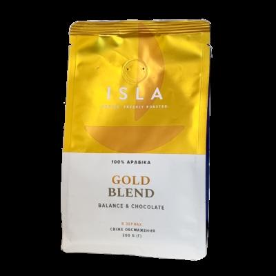 Кофе ISLA GOLD BLEND в зернах 200 г