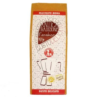 Кофе ORIENTALCAFFE GUSTO DELICATO молотый 250 г