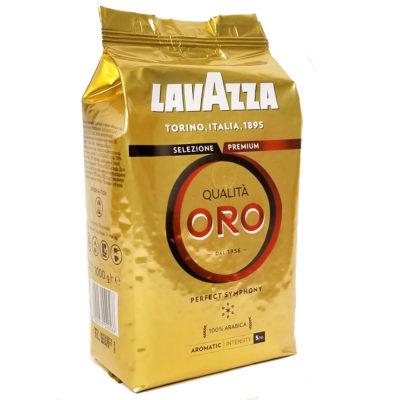 Кофе Lavazza Qualita Oro в зернах 1 кг