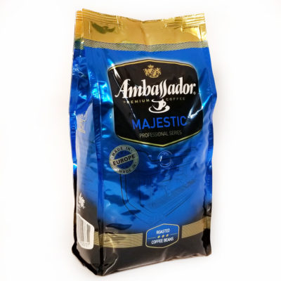 Кофе Ambassador Majestic в зернах 1 кг