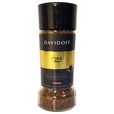 Кофе Davidoff Fine Aroma растворимый в стеклянной банке 100 г