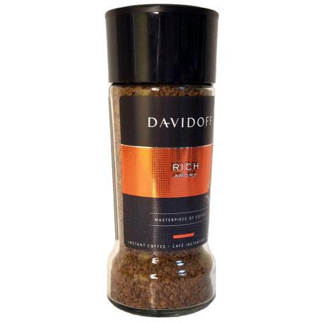 Кофе Davidoff Rich Aroma растворимый в стеклянной банке 100 г