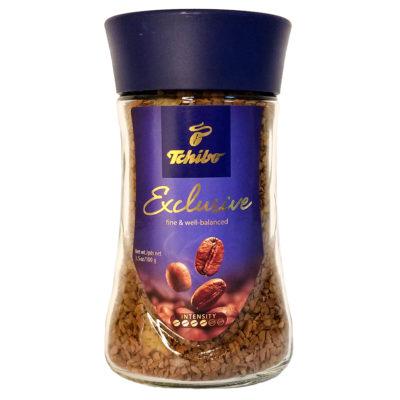 Кофе Tchibo Exclusive растворимый в стеклянной банке 100 г