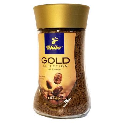 Кофе Tchibo Gold Selection растворимый в стеклянной банке 100 г