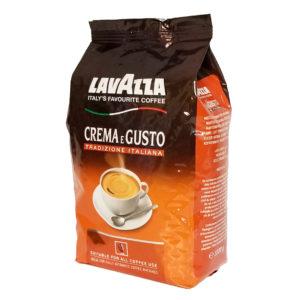 Кофе Lavazza Crema e Gusto в зернах 1 кг