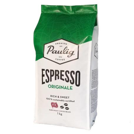 Кофе Paulig Espresso Originale в зернах 1 кг