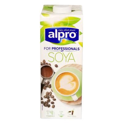 Молоко соевое alpro Soya for professionals 1000 мл