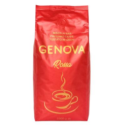 Кофе GENOVA Rossa в зернах 1 кг