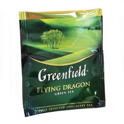 Чай Greenfield Flying Dragon зеленый 100 фильтр-пакетов 2 г