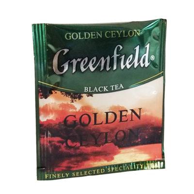 Чай Greenfield Golden Ceylon черный 100 фильтр-пакетов 2 г