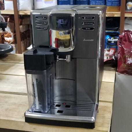 Кофемашина Saeco Incanto One Touch Cappuccino HD8918/09