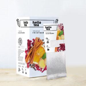 Чай hello tea фруктовый Глинтвейн 20 фильтр-пакетов 62 г
